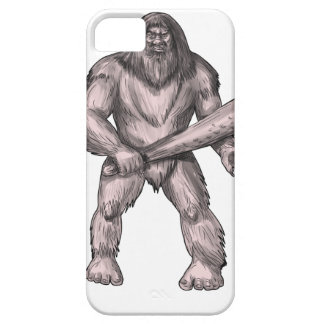 Capa Barely There Para iPhone 5 Bigfoot que guardara o tatuagem ereto do clube