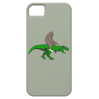Capa Barely There Para iPhone 5 Bigfoot que monta T Rex
