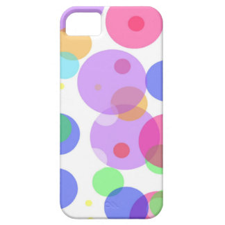 Capa Barely There Para iPhone 5 Bolhas coloridas
