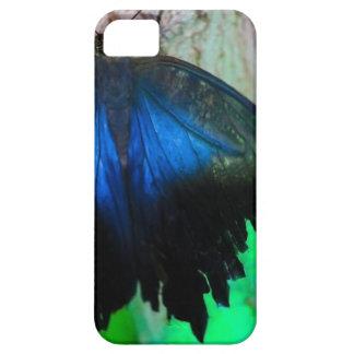 Capa Barely There Para iPhone 5 Borboleta azul comum