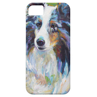 Capa Barely There Para iPhone 5 BORDER COLLIE colorido