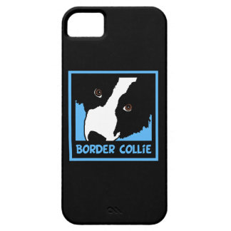 Capa Barely There Para iPhone 5 border collie que olha o ovelha