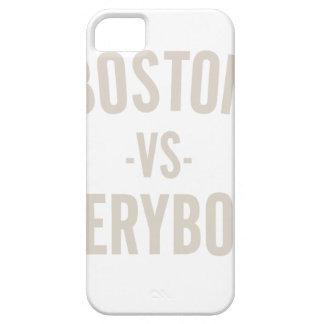 Capa Barely There Para iPhone 5 Boston contra todos