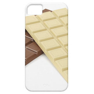 Capa Barely There Para iPhone 5 Brown e bares de chocolate brancos