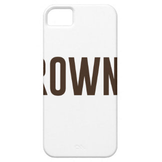Capa Barely There Para iPhone 5 Brownie