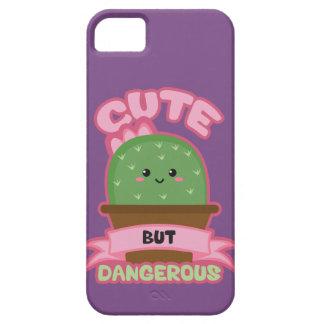 Capa Barely There Para iPhone 5 - Cacto de Kawaii - engraçado bonito mas perigoso