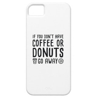 Capa Barely There Para iPhone 5 Café ou rosquinhas