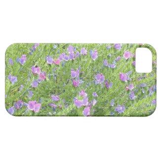 Capa Barely There Para iPhone 5 Caixa cor-de-rosa da flor para a avó/mãe/tia
