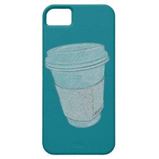 Capa Barely There Para iPhone 5 Caixa do copo de café