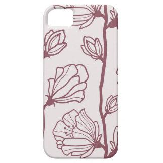 Capa Barely There Para iPhone 5 Caixa minimalista da flor