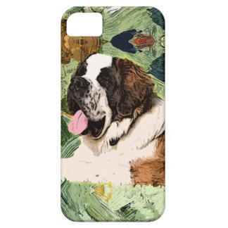 Capa Barely There Para iPhone 5 Cão de St Bernard