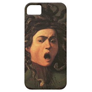 Capa Barely There Para iPhone 5 Caravaggio - Medusa - trabalhos de arte italianos