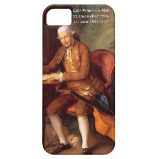 Capa Barely There Para iPhone 5 Carl Friedrich Abel