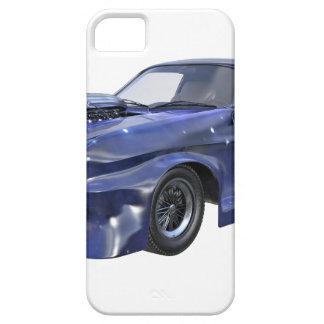 Capa Barely There Para iPhone 5 Carro azul do músculo de 2016 estrelas