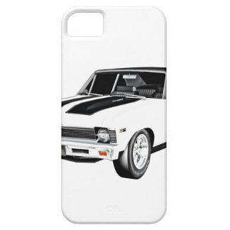 Capa Barely There Para iPhone 5 Carro do músculo de 1968 brancos