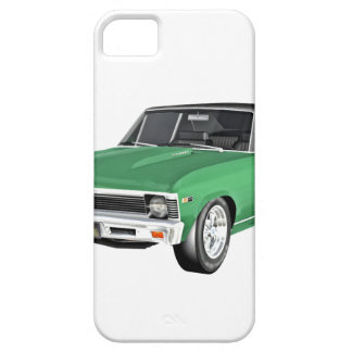 Capa Barely There Para iPhone 5 Carro verde do músculo 1968