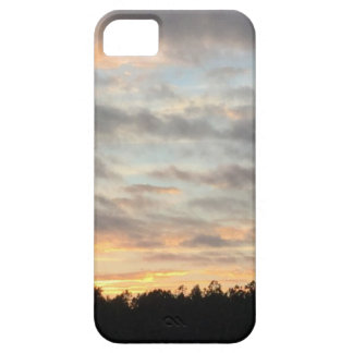 Capa Barely There Para iPhone 5 Caso bonito do telemóvel do por do sol
