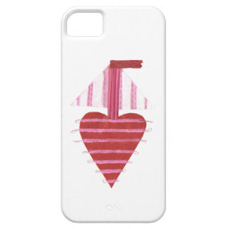 Capa Barely There Para iPhone 5 Caso de IPhone 5/5s do barco de Loveheart