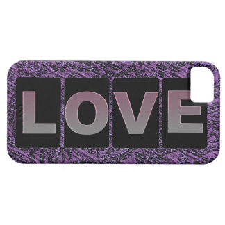 Capa Barely There Para iPhone 5 Caso do iPhone 5/5s do amor