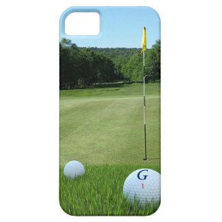 Capa Barely There Para iPhone 5 Caso do iPhone 5SE do fairway do jogador de golfe