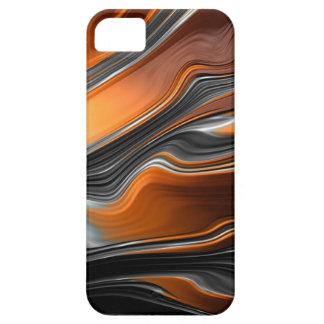 Capa Barely There Para iPhone 5 Caso do iPhone SE/5/5S do fluxo do Fractal mal lá