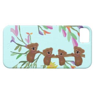 Capa Barely There Para iPhone 5 Caso para fora IPhone 5 dos Koalas de Haning