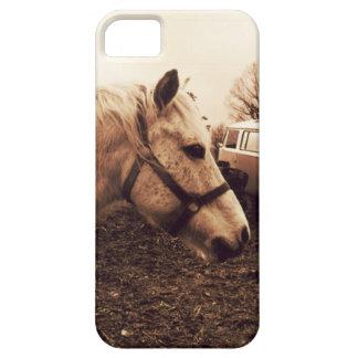 Capa Barely There Para iPhone 5 Cavalo e ônibus Dappled