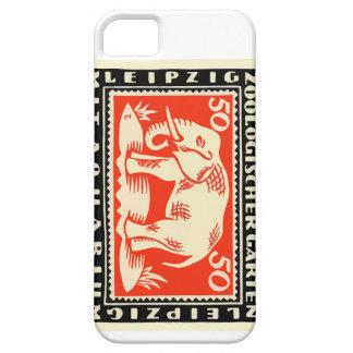 Capa Barely There Para iPhone 5 Cédula 1919 de Notgeld do jardim zoológico de