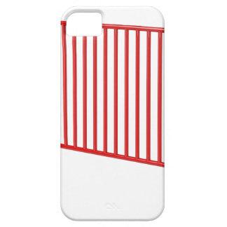 Capa Barely There Para iPhone 5 Cerca móvel vermelha