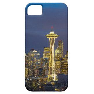 Capa Barely There Para iPhone 5 Cidade de Seattle durante o nivelamento do