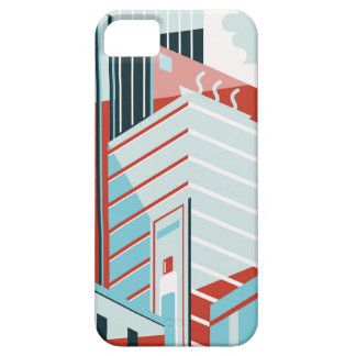 Capa Barely There Para iPhone 5 Cidade moderna