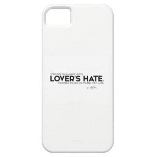 Capa Barely There Para iPhone 5 CITAÇÕES: Euripides: O ódio do amante