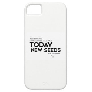 Capa Barely There Para iPhone 5 CITAÇÕES: Rumi: As sementes novas estão crescendo