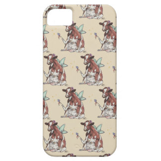 Capa Barely There Para iPhone 5 Clementina a vaca feericamente
