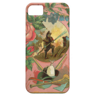 Capa Barely There Para iPhone 5 Cobrir do sapador-bombeiro do bombeiro dos 1880's