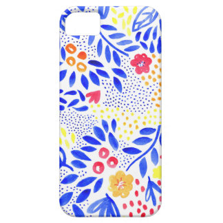 Capa Barely There Para iPhone 5 Cobrir floral corajoso do telefone do Belle