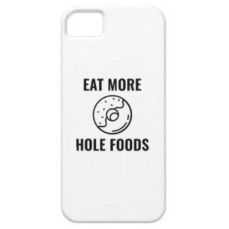 Capa Barely There Para iPhone 5 Coma mais alimentos do furo