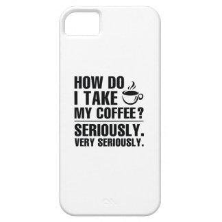 Capa Barely There Para iPhone 5 Como I toma meu café