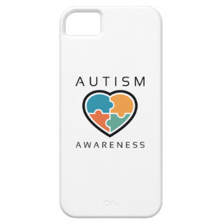 Capa Barely There Para iPhone 5 Consciência do autismo
