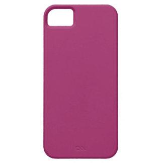 Capa Barely There Para iPhone 5 Cor P29 cor-de-rosa magenta harmoniosa optimista