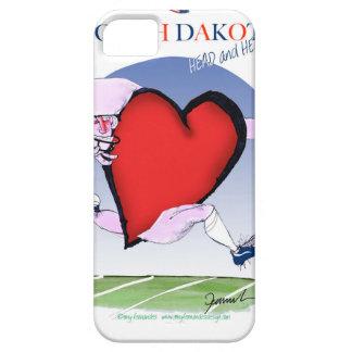 Capa Barely There Para iPhone 5 coração principal de North Dakota, fernandes tony