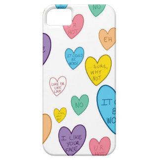 Capa Barely There Para iPhone 5 Corações dos doces