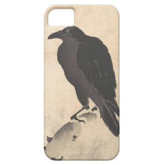 Capa Barely There Para iPhone 5 Corvo de Kawanabe Kyosai que descansa na arte de