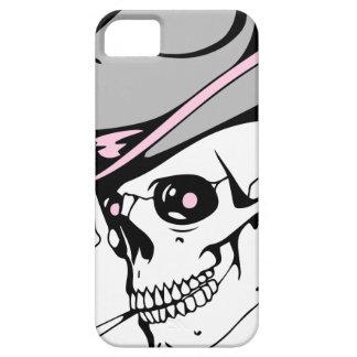 Capa Barely There Para iPhone 5 crânio cor-de-rosa do olho