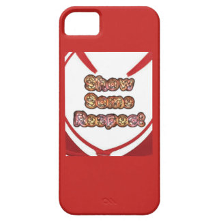 Capa Barely There Para iPhone 5 Criar sua própria mostra vermelha algum respeito