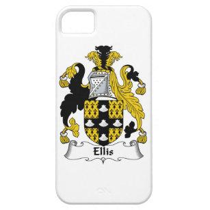Capa Barely There Para iPhone 5 Crista da família de Ellis 4353b9559b5