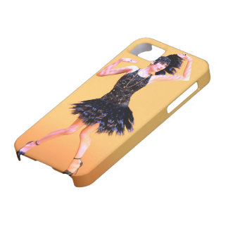 Capa Barely There Para iPhone 5 Dança do Flapper