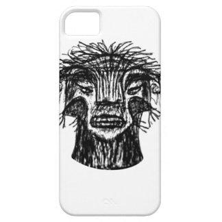 Capa Barely There Para iPhone 5 Desenho da cabeça do monstro da fantasia