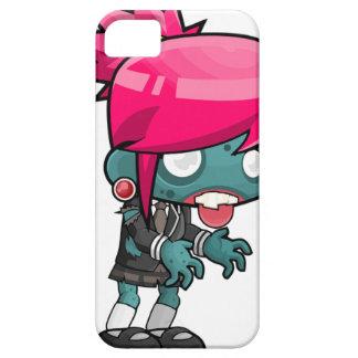 Capa Barely There Para iPhone 5 Desenhos animados da menina do zombi