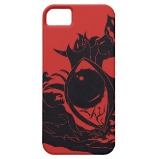 Capa Barely There Para iPhone 5 Design abstrato do olho (caso)